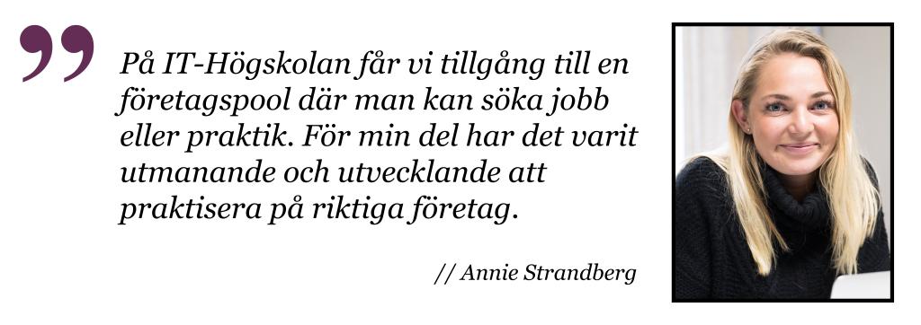 Annie Webbutvecklare